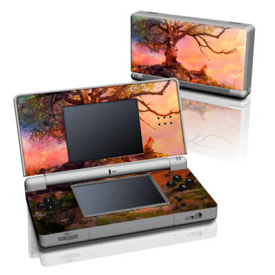 DS Lite Skin - Fox Sunset