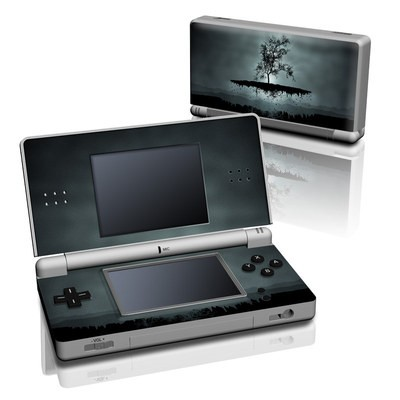 DS Lite Skin - Flying Tree Black