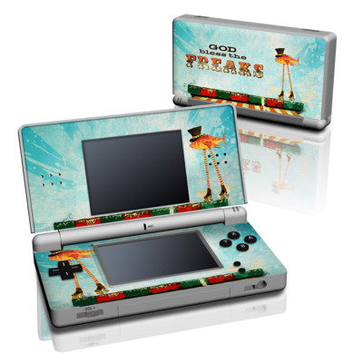 DS Lite Skin - God Bless The Freaks