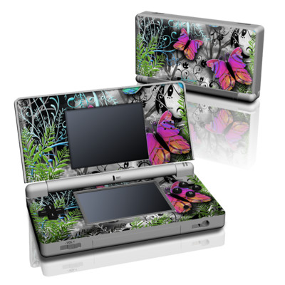 DS Lite Skin - Goth Forest