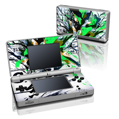 DS Lite Skin - Green 1