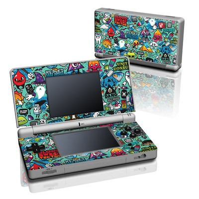 DS Lite Skin - Jewel Thief