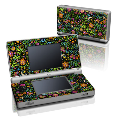 DS Lite Skin - Nature Ditzy