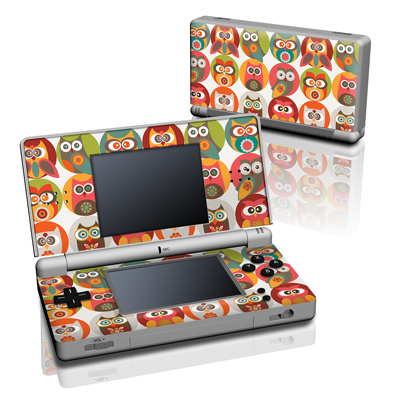 DS Lite Skin - Owls Family