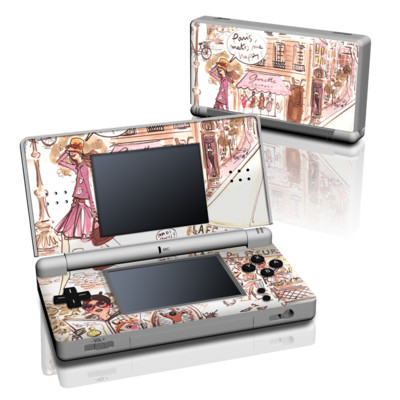 DS Lite Skin - Paris Makes Me Happy