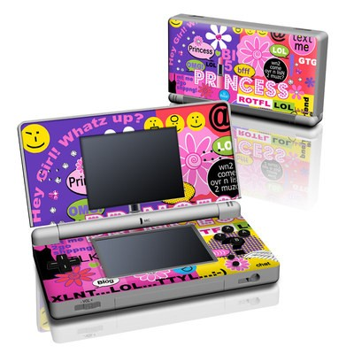 DS Lite Skin - Princess Text Me