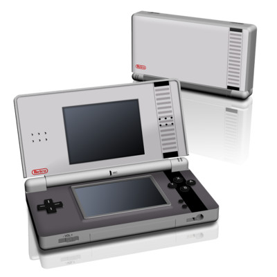 DS Lite Skin - Retro Horizontal