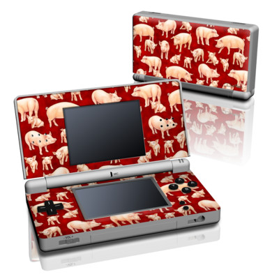 DS Lite Skin - Some Pig
