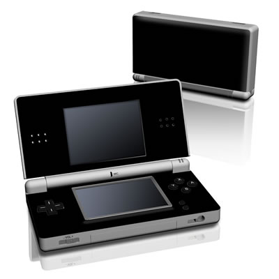DS Lite Skin - Solid State Black