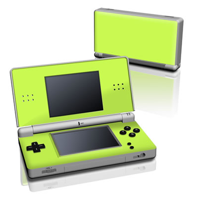 DS Lite Skin - Solid State Lime