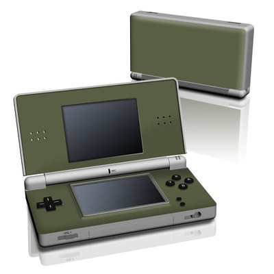 DS Lite Skin - Solid State Olive Drab