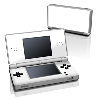 DS Lite Skin - Solid State White