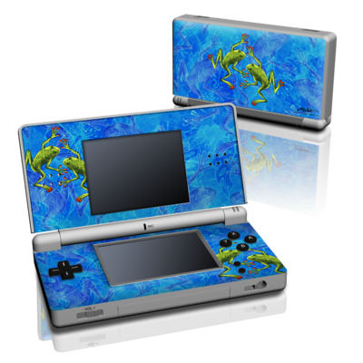 DS Lite Skin - Tiger Frogs