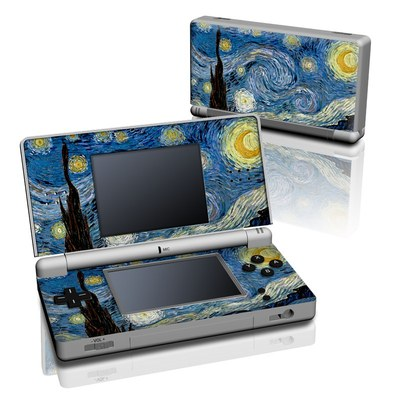 DS Lite Skin - Starry Night