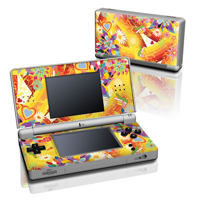 DS Lite Skin - Wall Flower