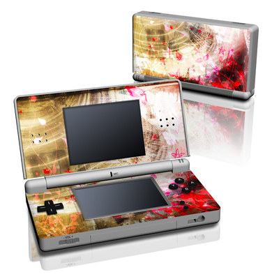 DS Lite Skin - Woodflower