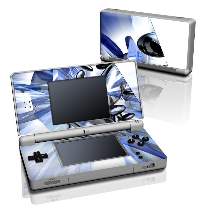 ds lite skin cobalt nexus by gaming decalgirl. Black Bedroom Furniture Sets. Home Design Ideas