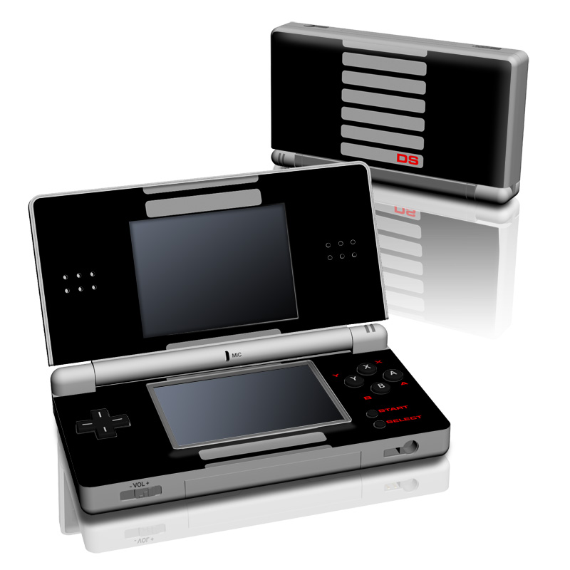 Ds Lite Skin Retro By Retro Decalgirl