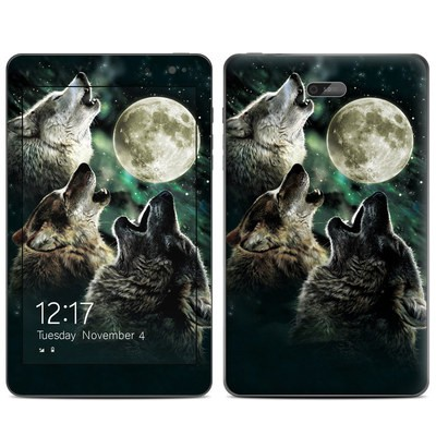 Dell Venue 8 Pro Skin - Three Wolf Moon