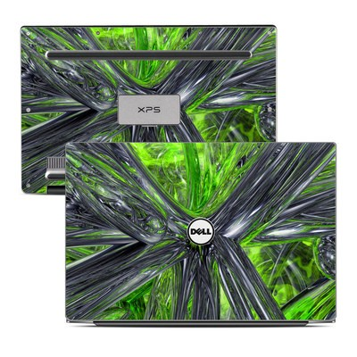 Dell XPS 13 (9343) Skin - Emerald Abstract