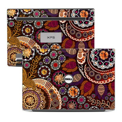 Dell XPS 13 Laptop Skin - Autumn Mehndi