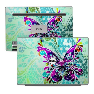 Dell XPS 13 Laptop Skin - Butterfly Glass