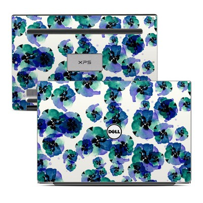 Dell XPS 13 Laptop Skin - Blue Eye Flowers