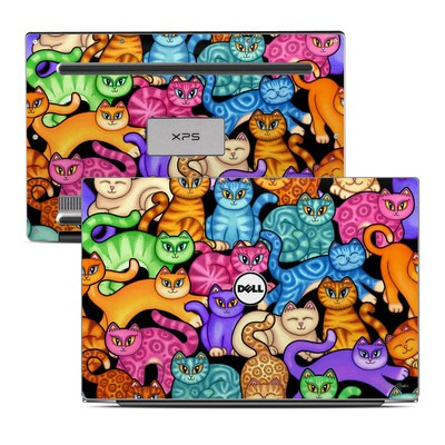 Dell XPS 13 Laptop Skin - Colorful Kittens