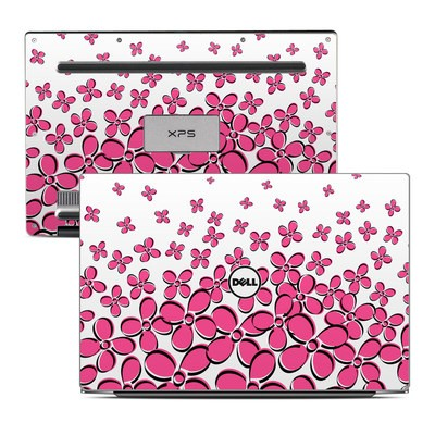 Dell XPS 13 (9343) Skin - Daisy Field - Pink