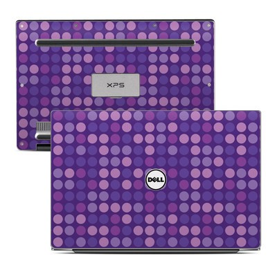 Dell XPS 13 Laptop Skin - Big Dots Purple