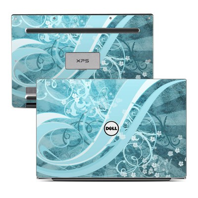 Dell XPS 13 (9343) Skin - Flores Agua