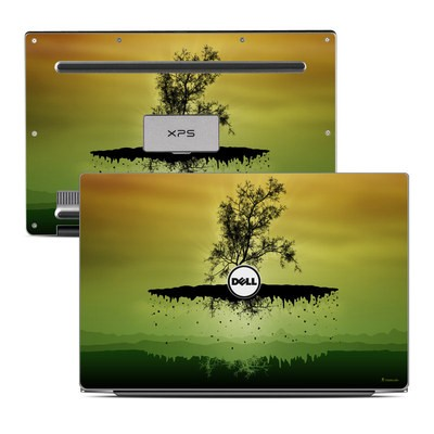 Dell XPS 13 Laptop Skin - Flying Tree Amber