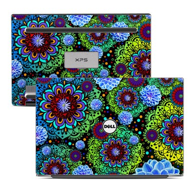 Dell XPS 13 Laptop Skin - Funky Floratopia