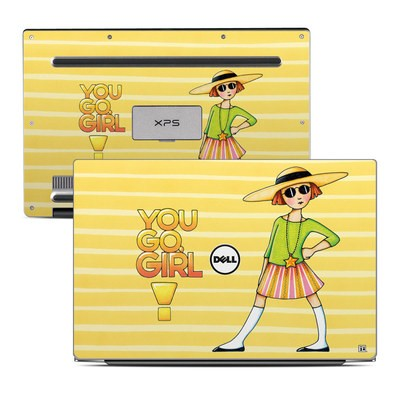 Dell XPS 13 Laptop Skin - You Go Girl