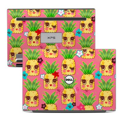 Dell XPS 13 (9343) Skin - Happy Kawaii Pineapples