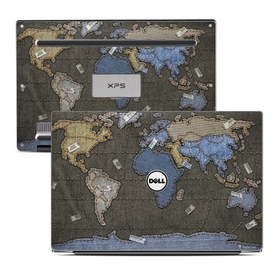 Dell XPS 13 Laptop Skin - Jean Map