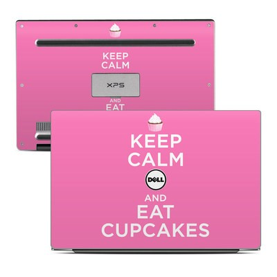 Dell XPS 13 (9343) Skin - Keep Calm - Cupcakes