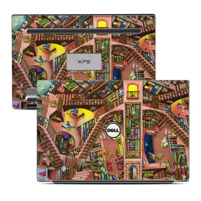 Dell XPS 13 (9343) Skin - Library Magic