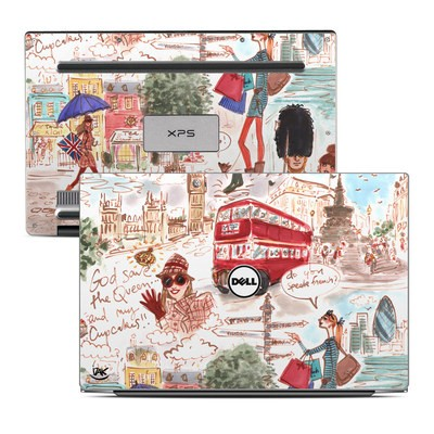 Dell XPS 13 Laptop Skin - London
