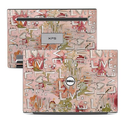 Dell XPS 13 Laptop Skin - Love Floral