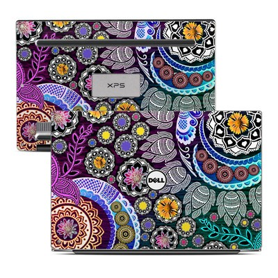 Dell XPS 13 Laptop Skin - Mehndi Garden