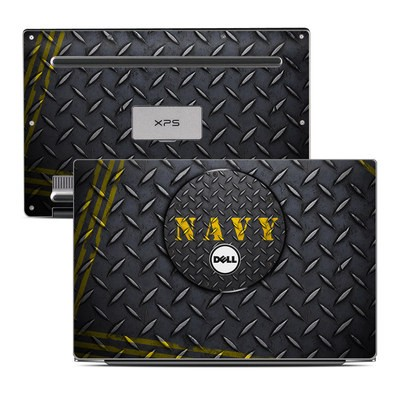 Dell XPS 13 Laptop Skin - Navy Diamond Plate