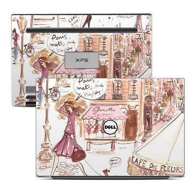 Dell XPS 13 Laptop Skin - Paris Makes Me Happy