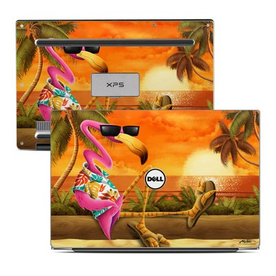 Dell XPS 13 Laptop Skin - Sunset Flamingo