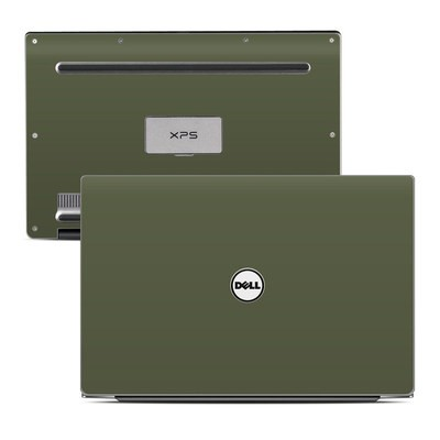 Dell XPS 13 (9343) Skin - Solid State Olive Drab