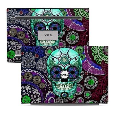 Dell XPS 13 Laptop Skin - Sugar Skull Sombrero