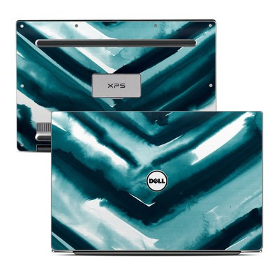 Dell XPS 13 Laptop Skin - Watercolor Chevron