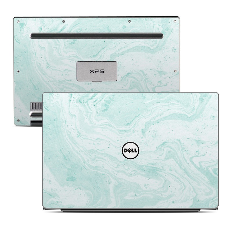 Dell Xps 13 9343 Skin Winter Green Marble By Marble