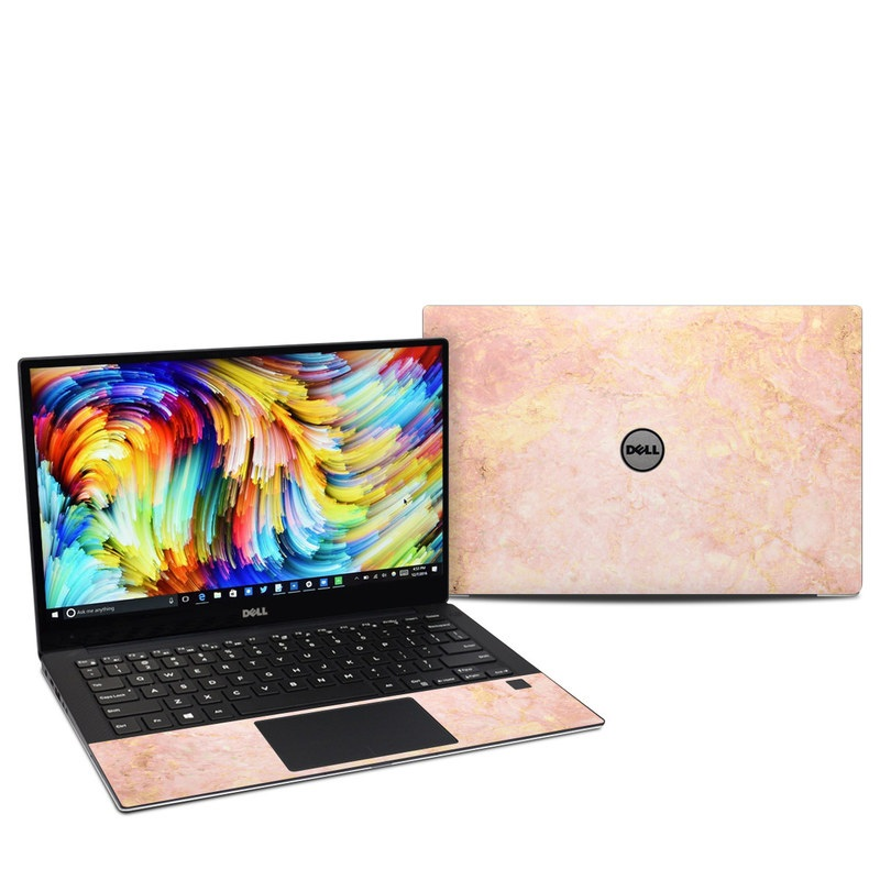 Dell Xps 13 9360 Skin Rose Gold Marble By Marble