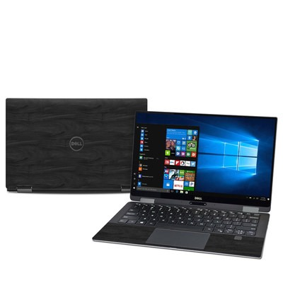 Dell XPS 13 2-in-1 (9365) Skin - Black Woodgrain